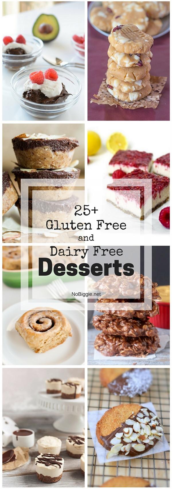 Dairy Free Gluten Free Desserts  25 Gluten Free and Dairy Free Desserts