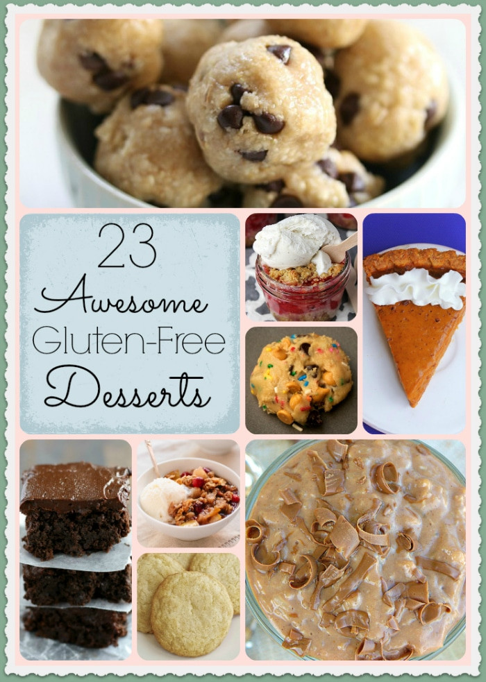 Dairy Free Gluten Free Desserts  Gluten free dessert recipes · The Typical Mom