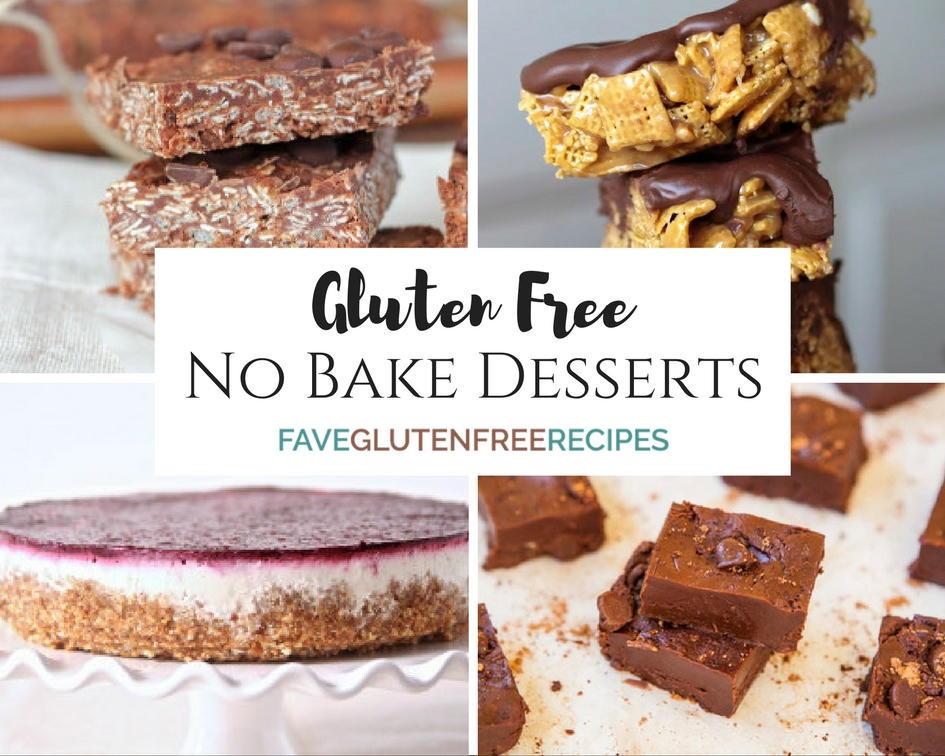 Dairy Free Gluten Free Desserts  Gluten Free Desserts Best No Bake Recipes