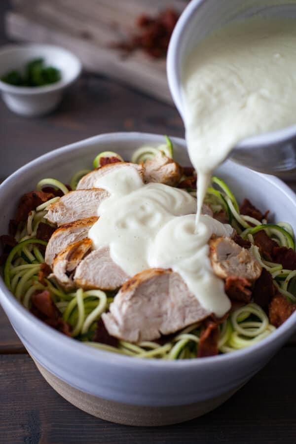 Dairy Free Keto Recipes  Chicken Paleo Alfredo Bake Recipe Clean Gluten Free