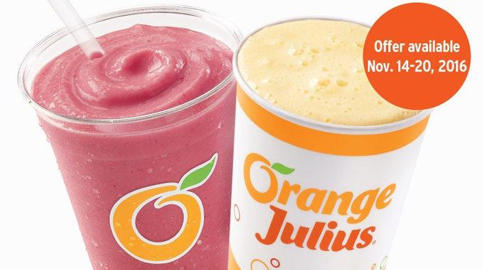 Dairy Queen Smoothies  Buy e Get e Premium Fruit Smoothie Julius Original