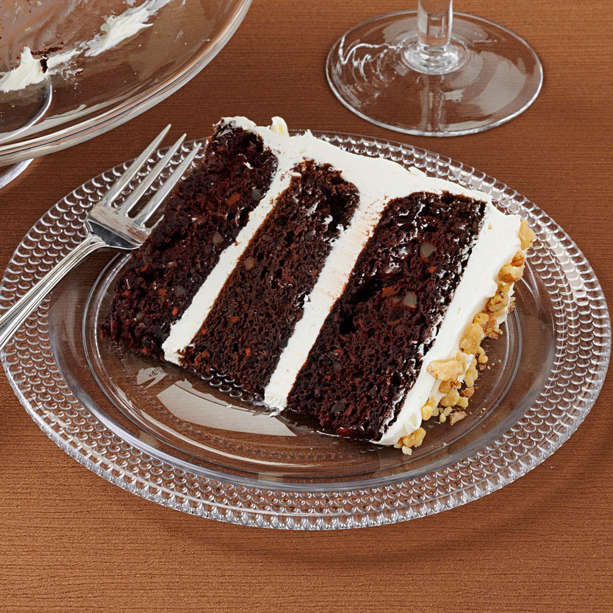 Dark Chocolate Cake Recipe  Dark Chocolate Carrot Cake Recipe