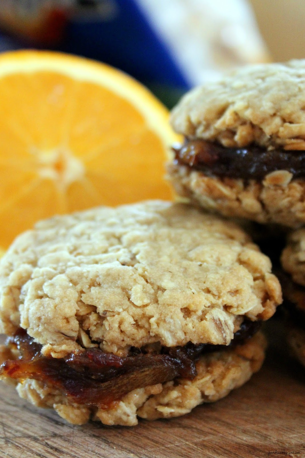 Date Filled Cookies  Jo and Sue Old Fashioned Date Filled Oatmeal Cookies