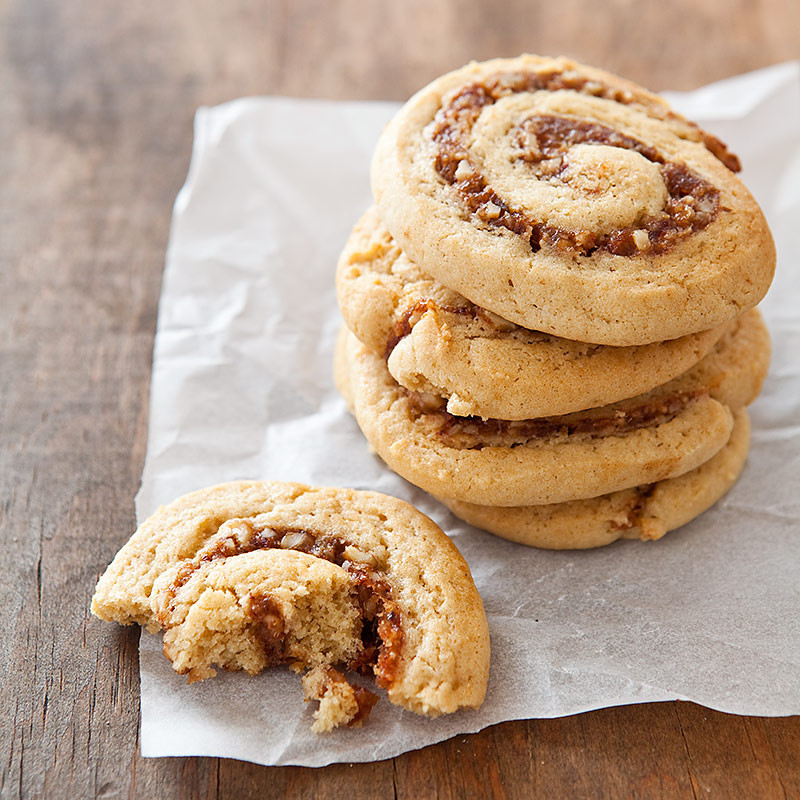 Date Filled Cookies  Date Filled Roll Ups