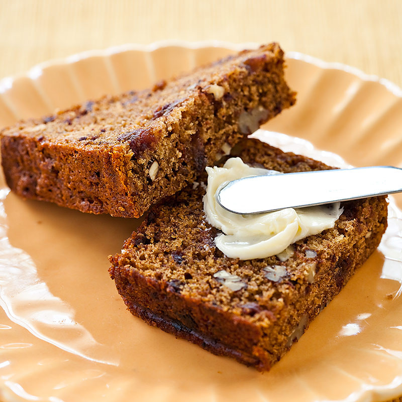Date Nut Bread Recipe  orange date nut bread