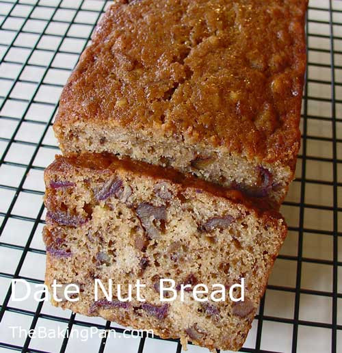 Date Nut Bread Recipe  Date Nut Bread Recipe