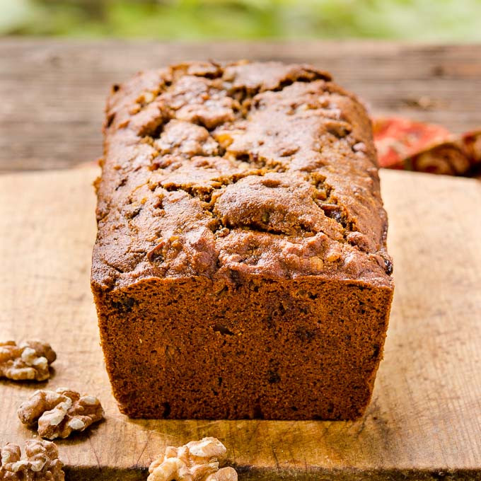 Date Nut Bread Recipe  Whole Wheat Date Nut Bread