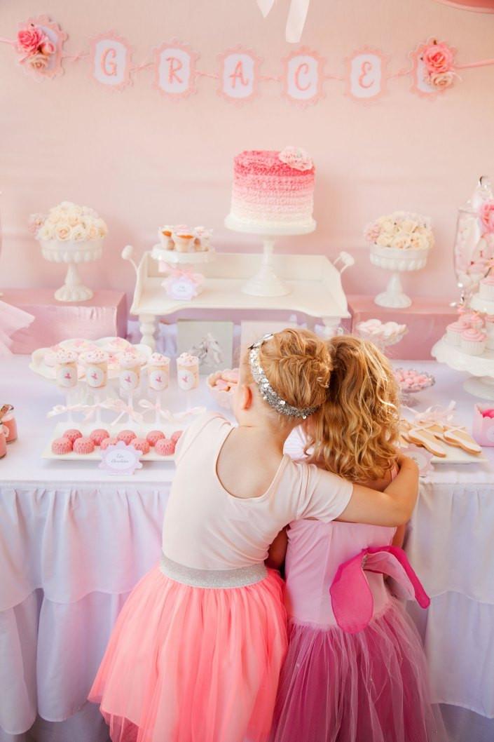 Daughter For Dessert Ch 11  Pretty Pink Ballerina Birthday Party Birthday Party