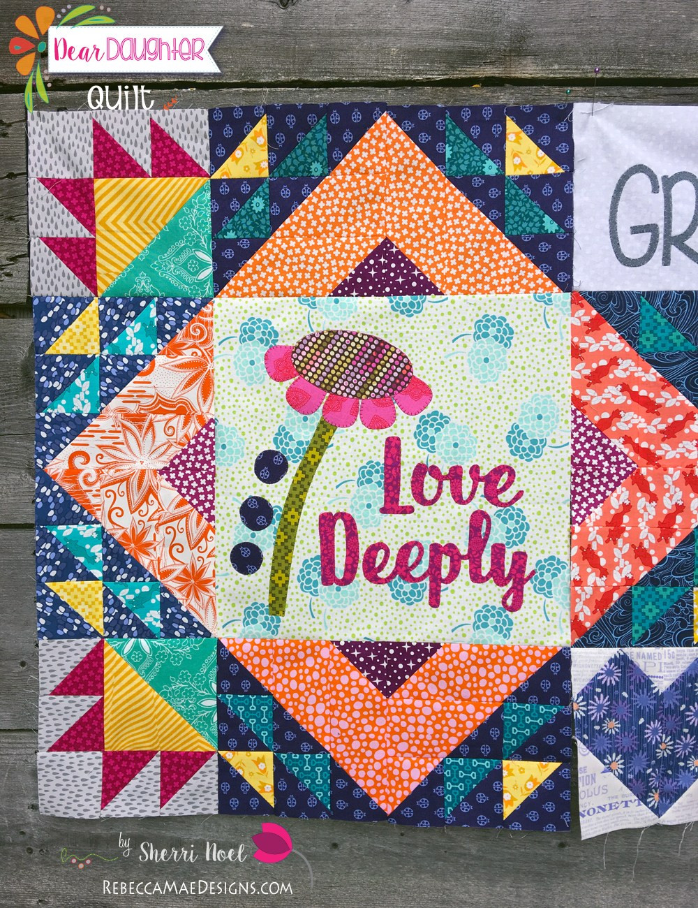 Daughter For Dessert Chapter 11  Chapter 11 Dear Daughter Quilt