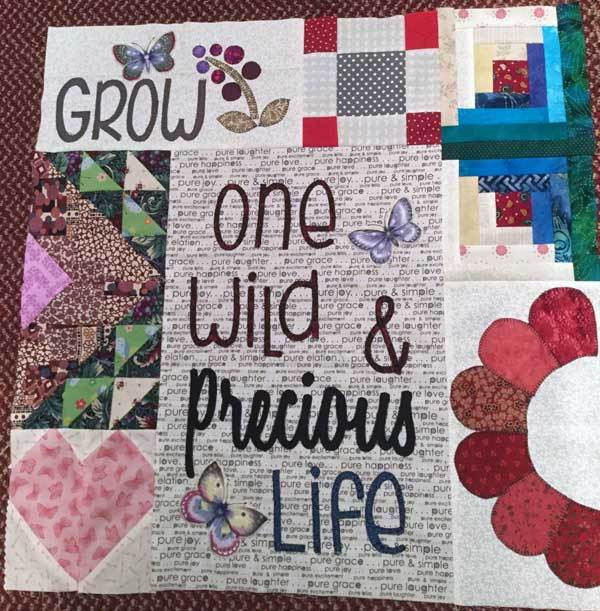 Daughter For Dessert Chapter 11  Chapter 3 Dear Daughter Quilt