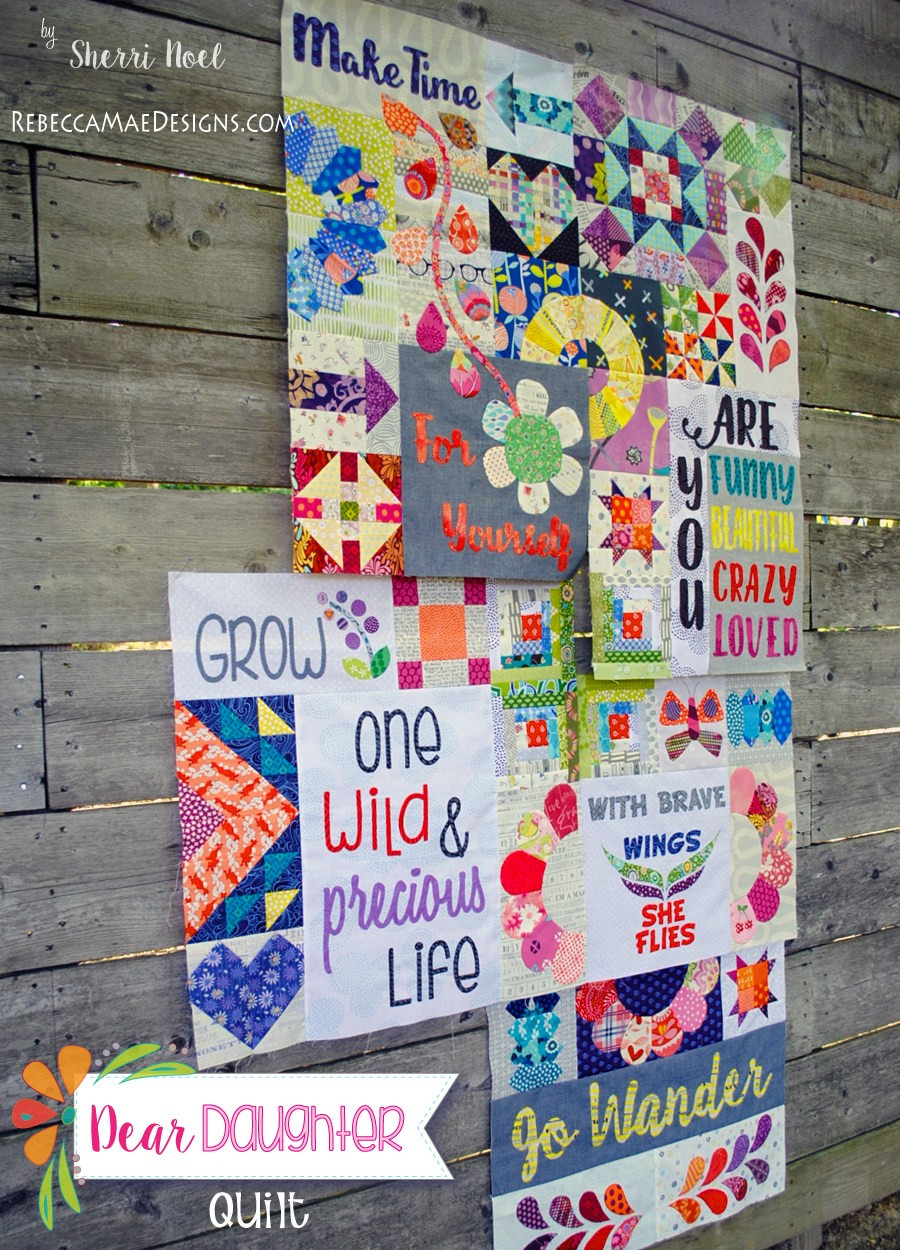 Daughter For Dessert Chapter 7  Chapter 5 Dear Daughter Quilt Giveaway