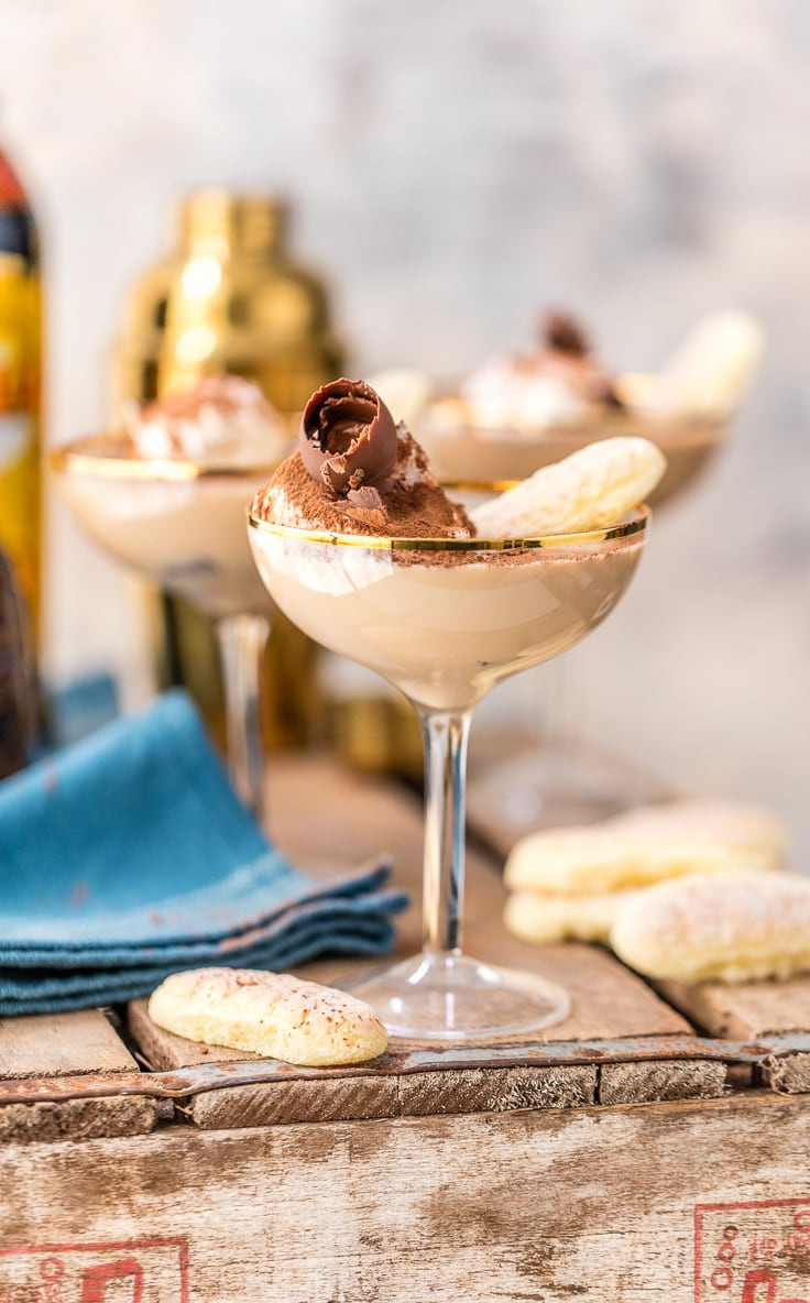 Dessert And Drinks  Tiramisu Martini The Cookie Rookie