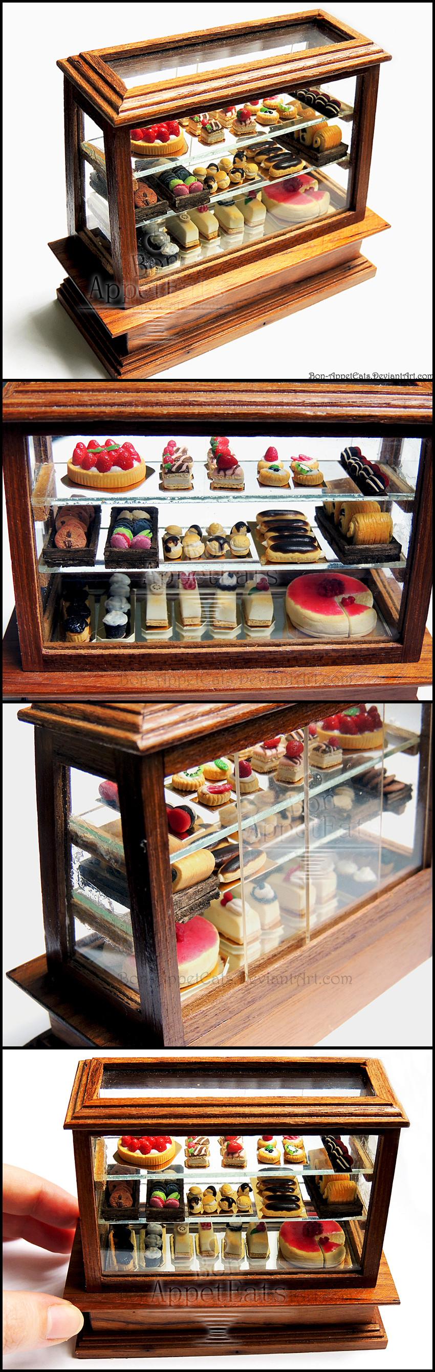 Dessert Display Case  1 12 Pastry Display Case Detail by Bon AppetEats on DeviantArt