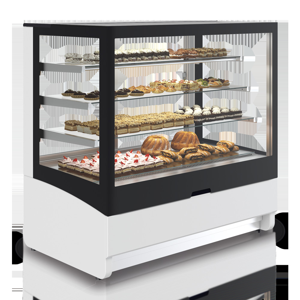Dessert Display Case  INNOVA Non Refrigerated Display Case Pastry Bakery