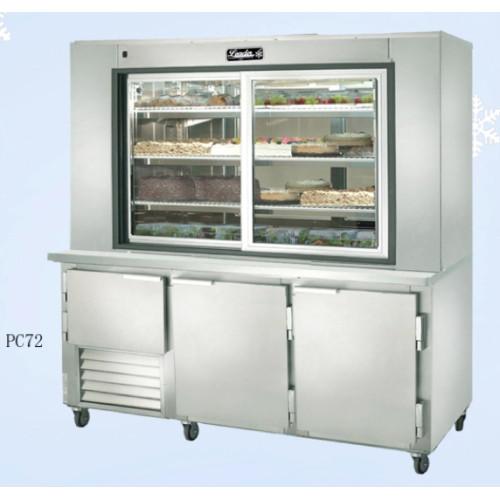 "Dessert Display Case  Leader PC72 72"" Dessert Display Case with Refrigerated"