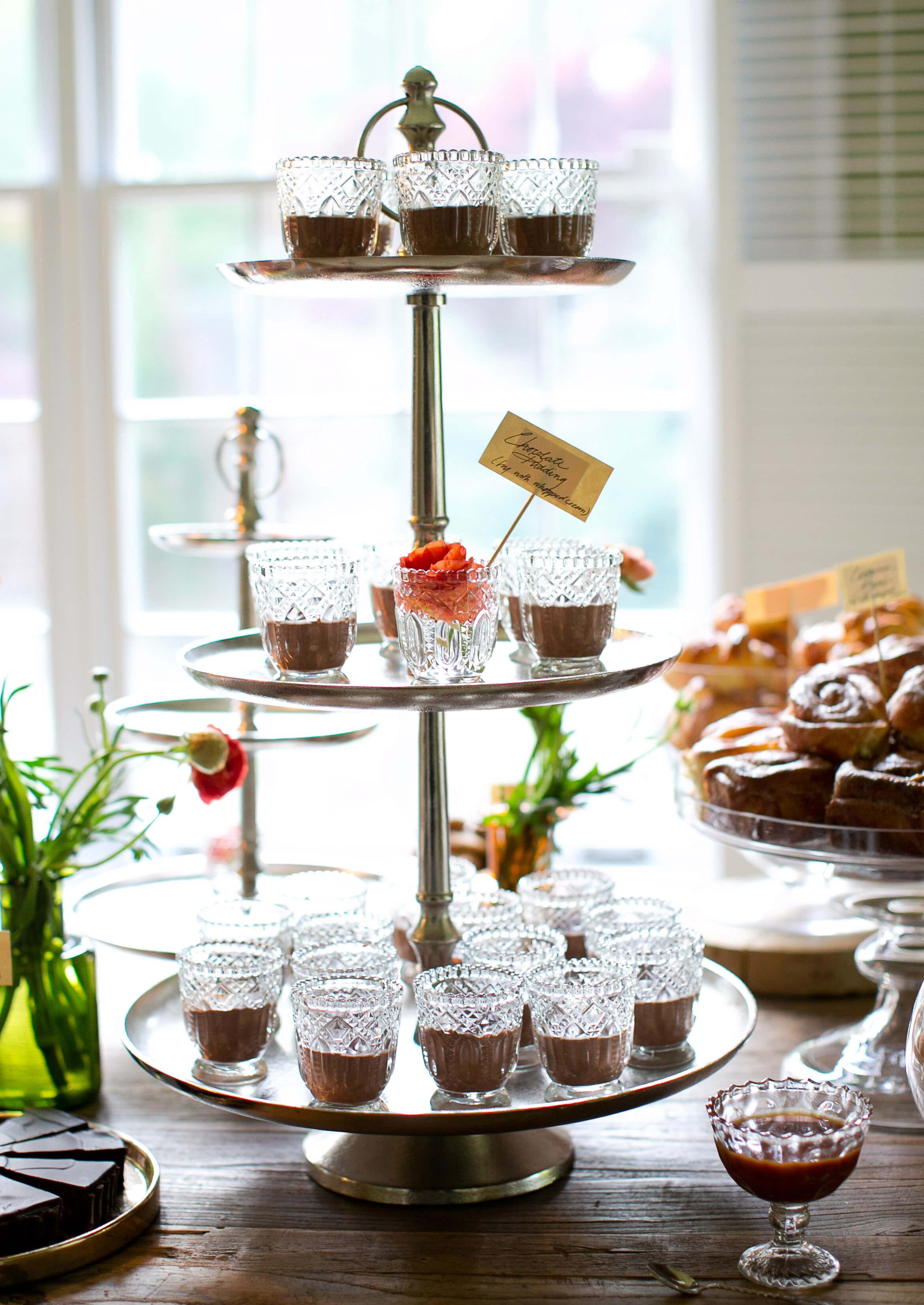 Dessert Display Stands  Tiered Metal Dessert Stand