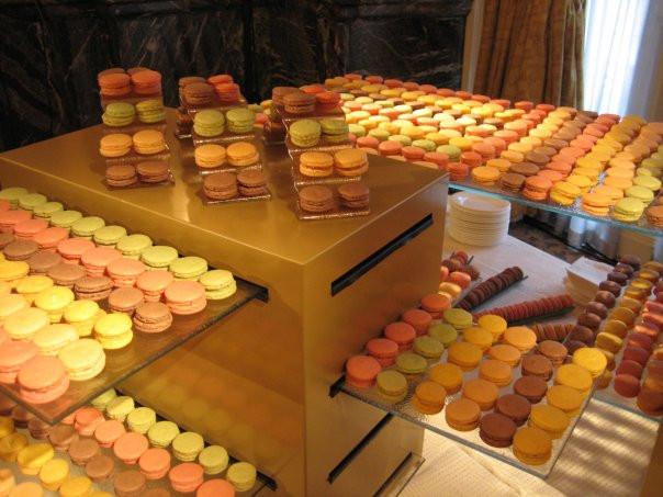 Dessert Display Stands  Chocolate afternoon tea at Landmark hotel London