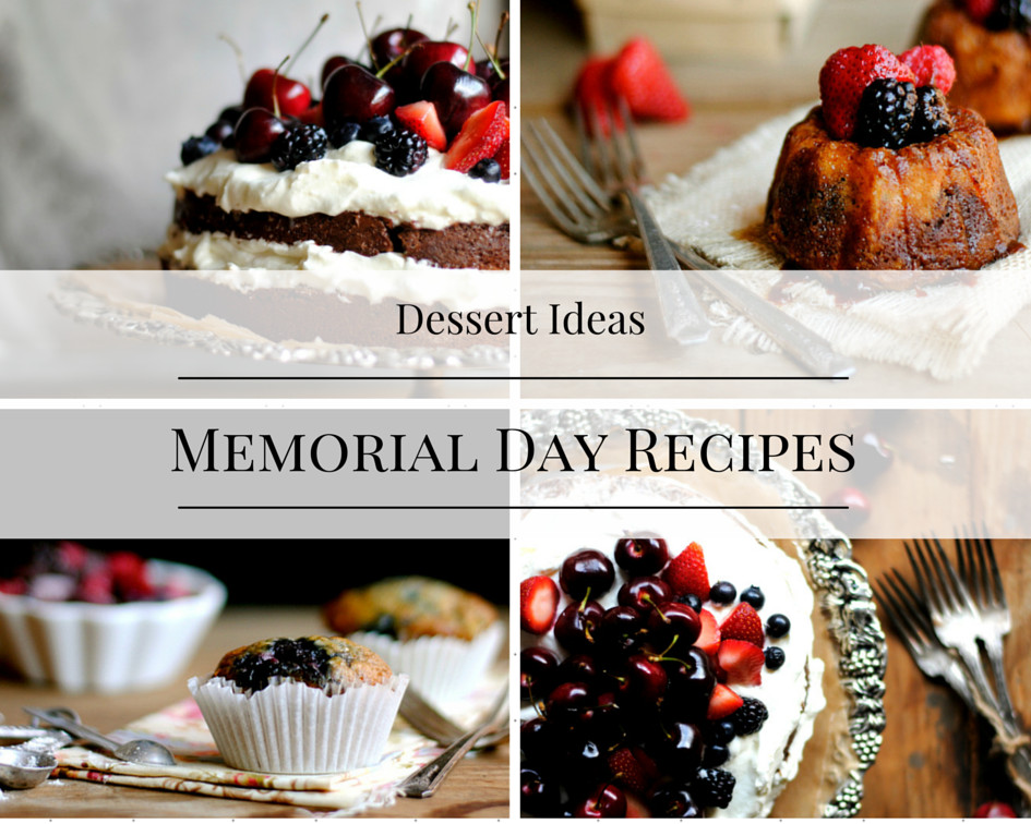 Dessert For Memorial Day  Red White and Blue Dessert Recipes How To Simplify