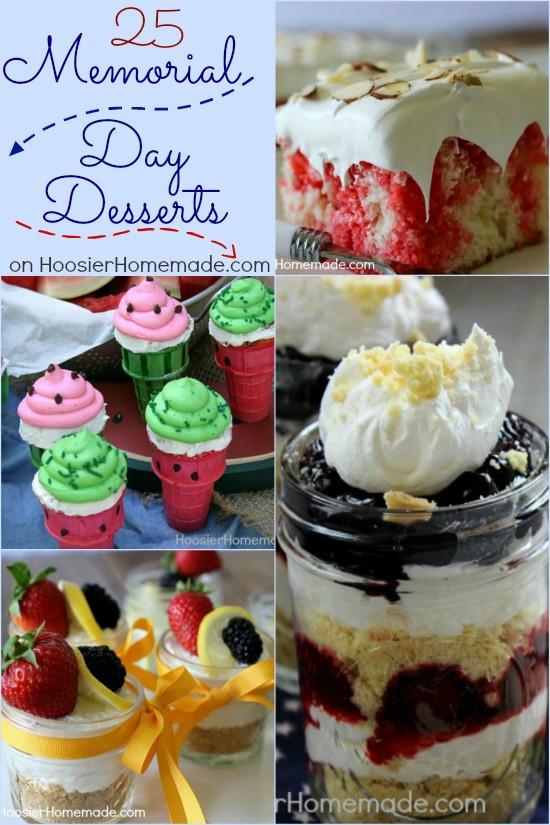 Dessert For Memorial Day  Memorial Day Desserts Hoosier Homemade