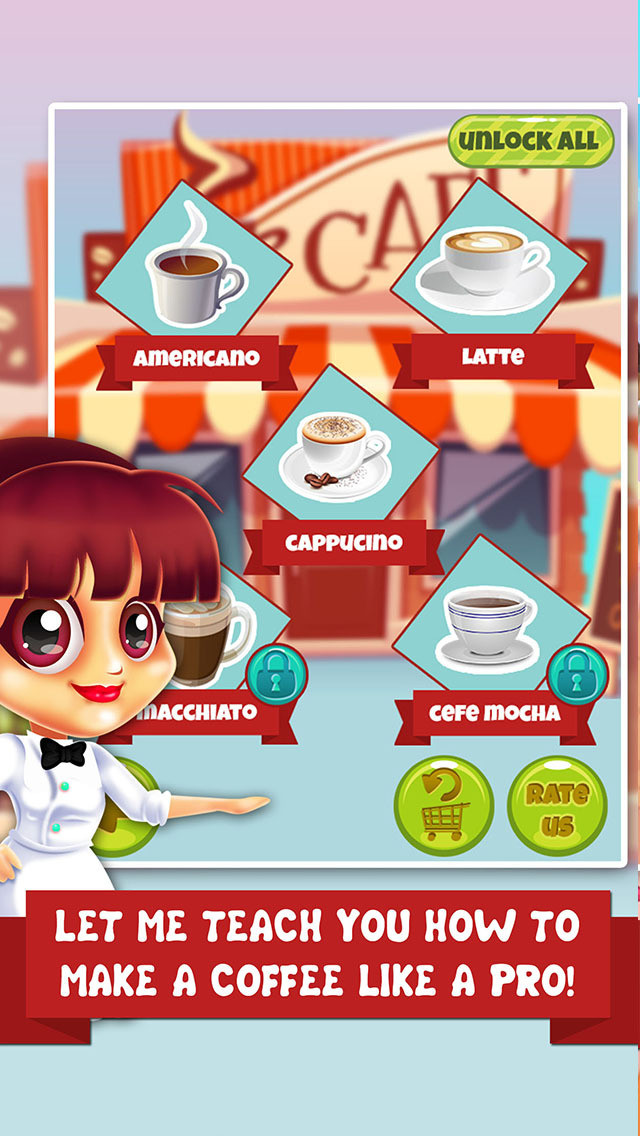 Dessert Making Games  App Shopper Coffee Dessert Making Salon food maker