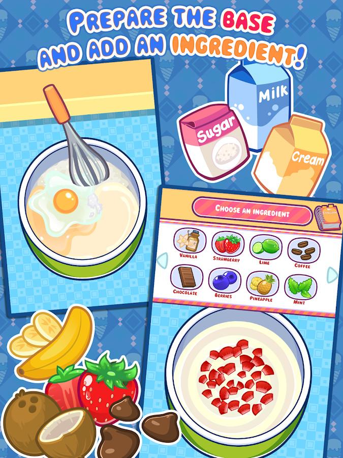 Dessert Making Games  My Ice Cream Maker Frozen Dessert Making Game Android