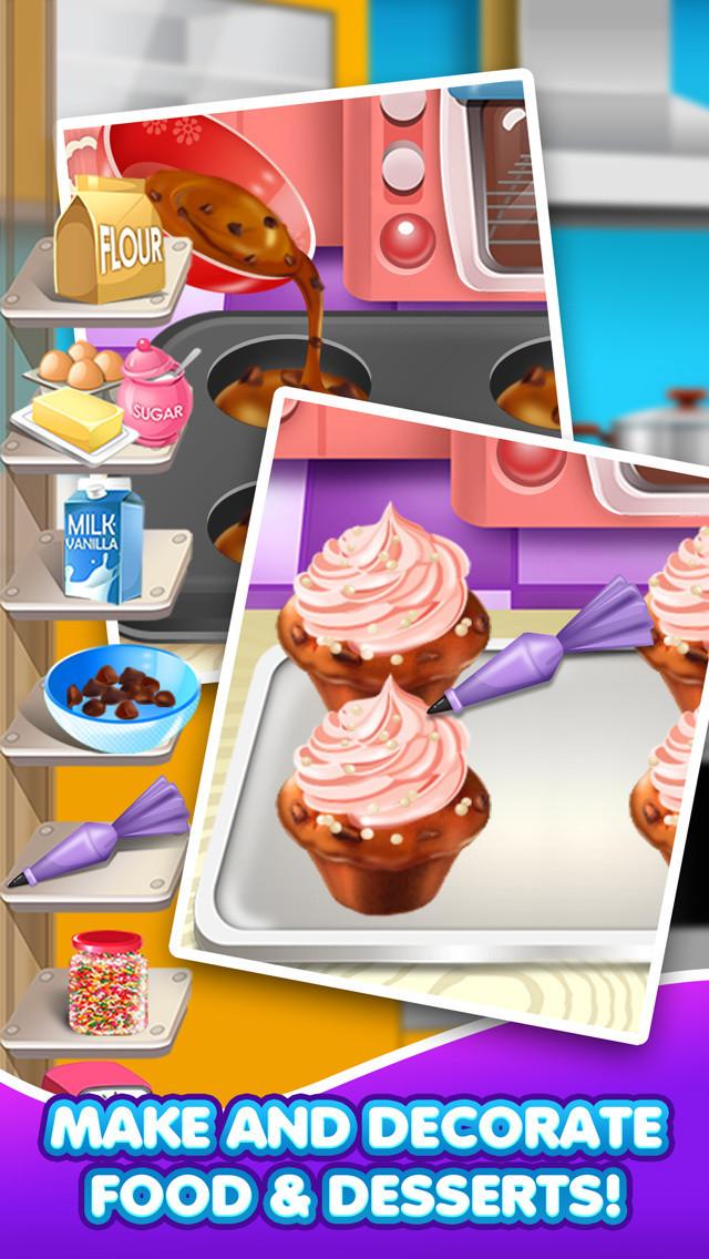 Dessert Making Games  App Shopper Crazy Dessert Food Maker Salon School Lunch