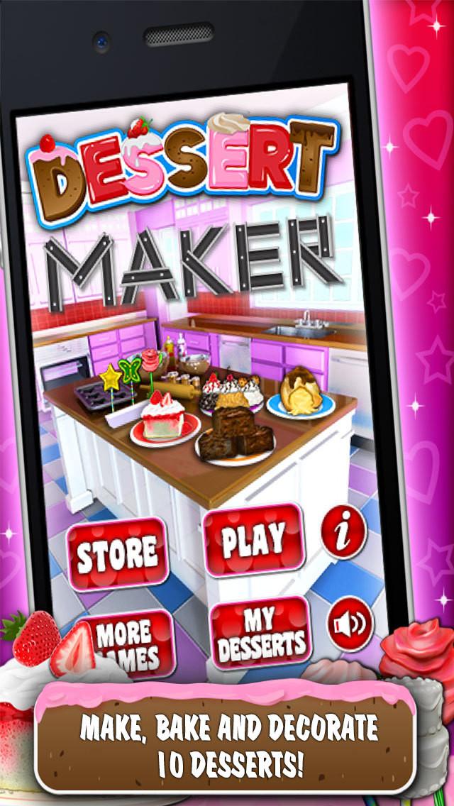 Dessert Making Games  App Shopper Dessert Maker Games Make & Bake Desserts
