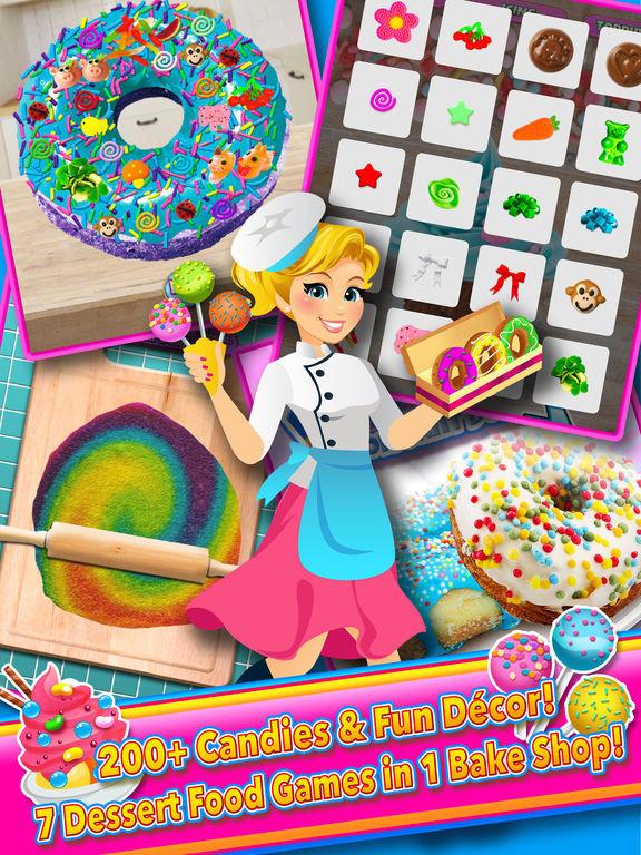 Dessert Making Games  App Shopper Candy Dessert Bakery Shop Make & Cook Games