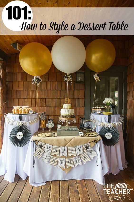 Dessert The Song  Dessert Tables 101 How to Arrange Your Treats