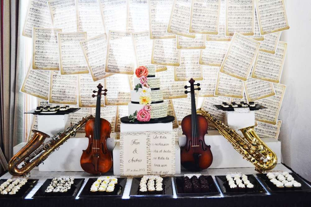 Dessert The Song  Music Instruments Wedding Party Ideas