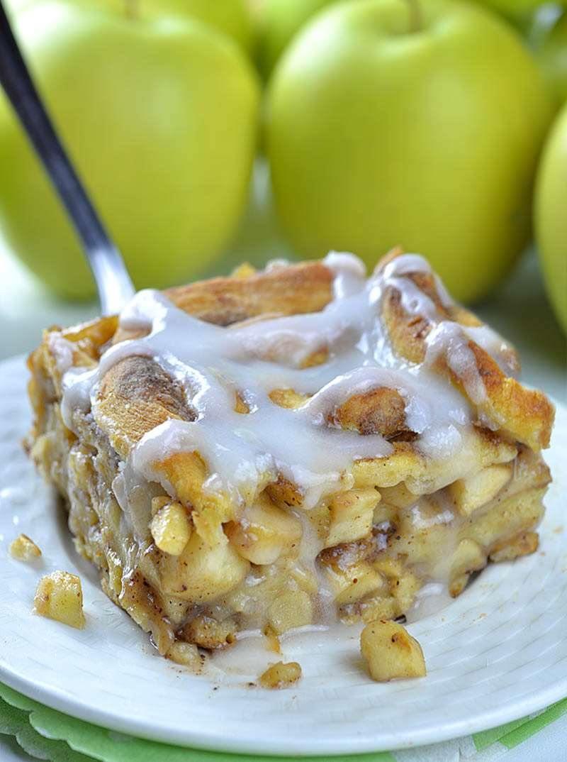 Dessert With Apples  Caramel Apple Cinnamon Roll Lasagna OMG Chocolate Desserts