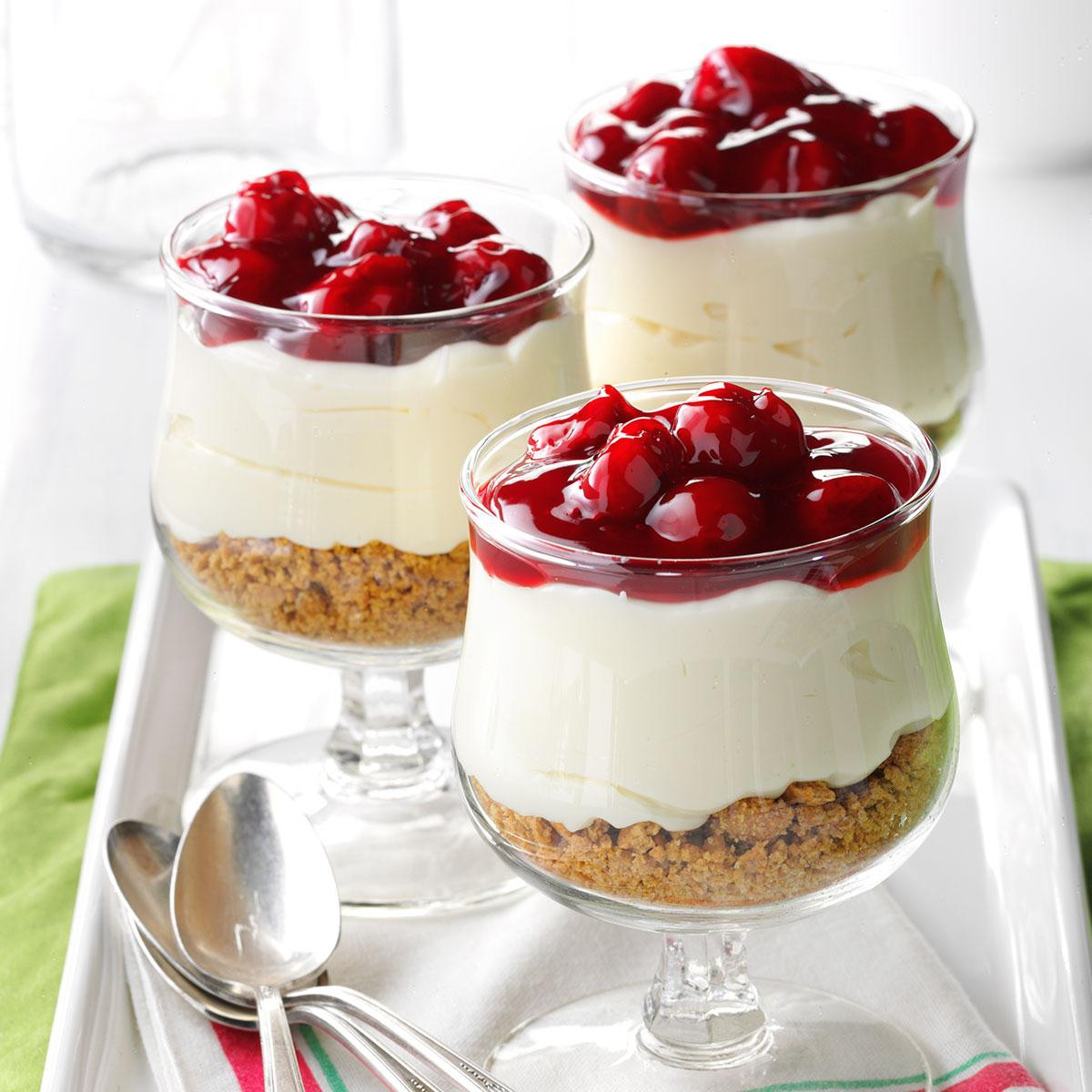 Dessert With Cream Cheese  Cherry Cream Cheese Dessert Recipe