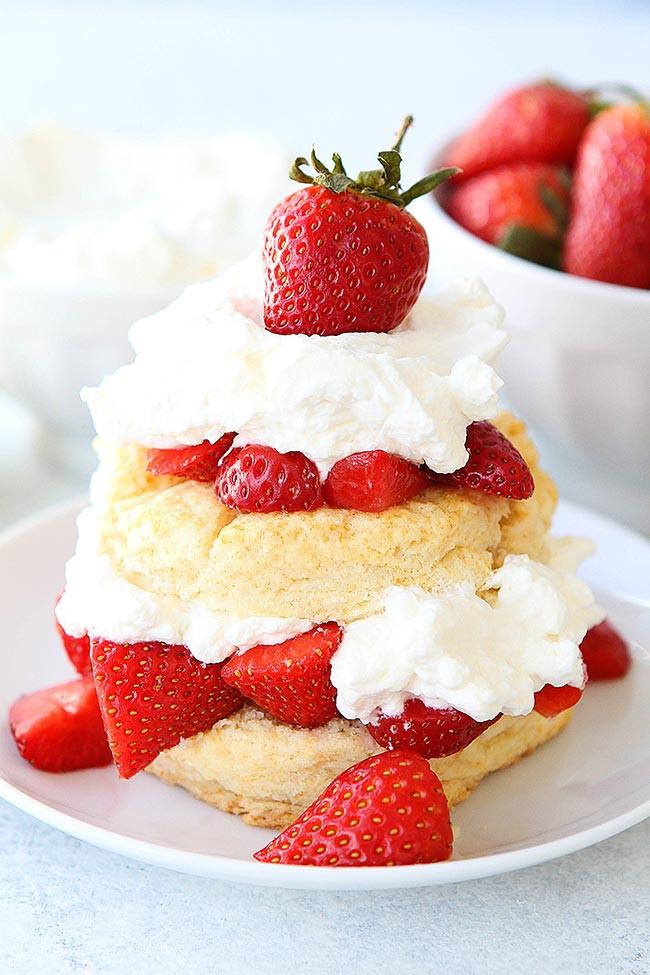 Dessert With Strawberries  Strawberry Shortcake Recipe