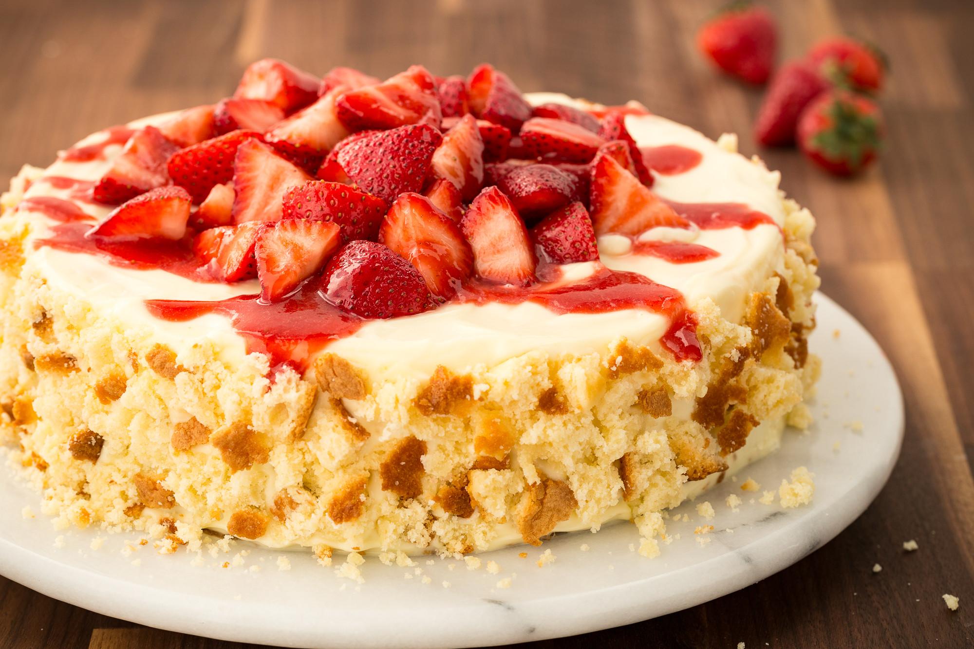 Dessert With Strawberries  19 Strawberries & Cream Dessert Ideas & Recipes—Delish
