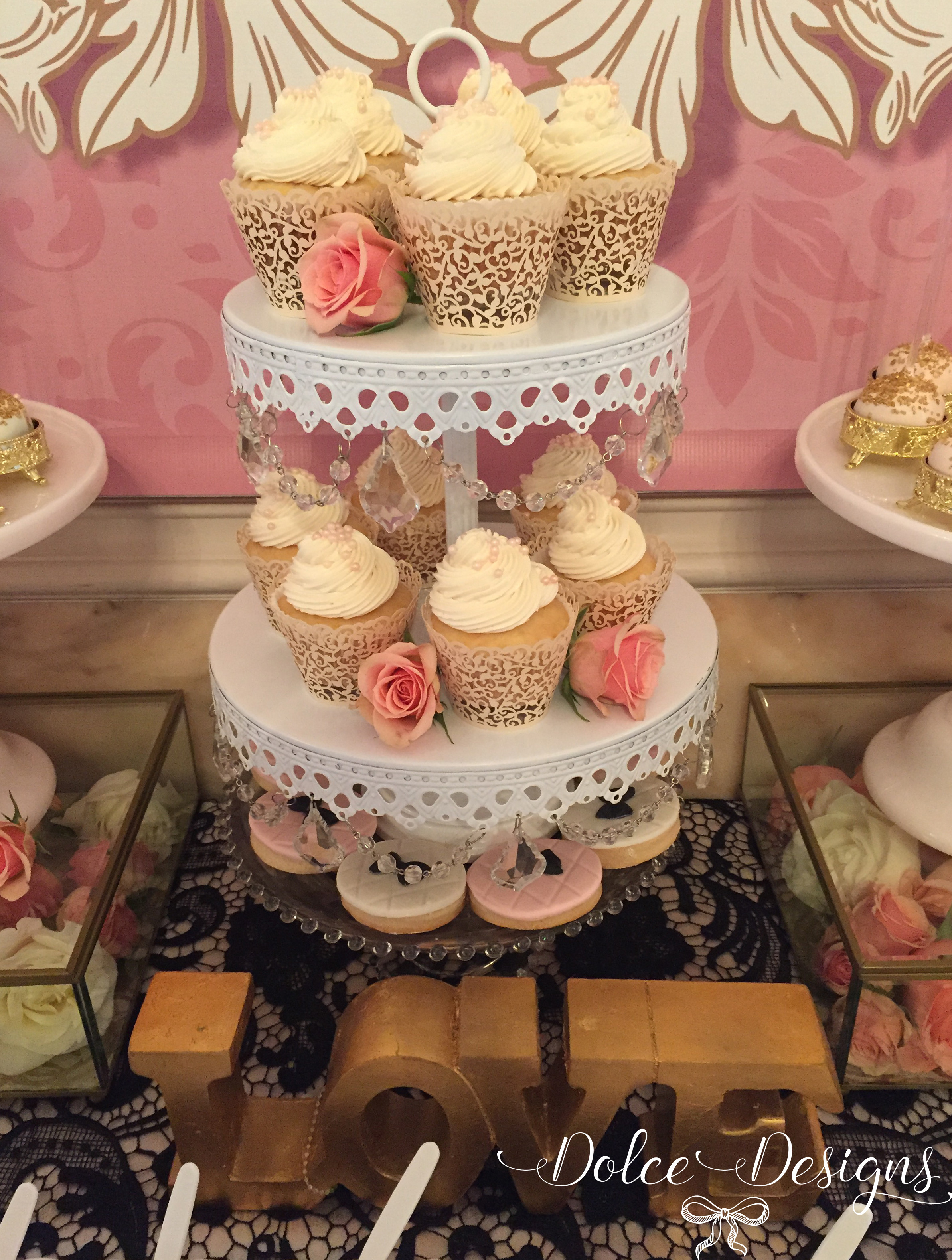 Desserts By Design  french style dessert table