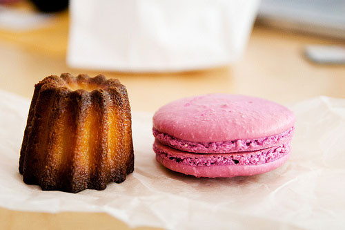 Desserts By Michael Allen  A Very Sweet Morning Macaron and Canelé from Desserts by