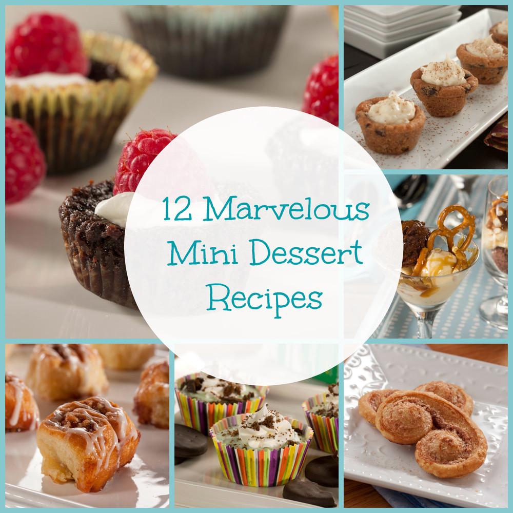 Desserts For One  12 Marvelous Mini Dessert Recipes