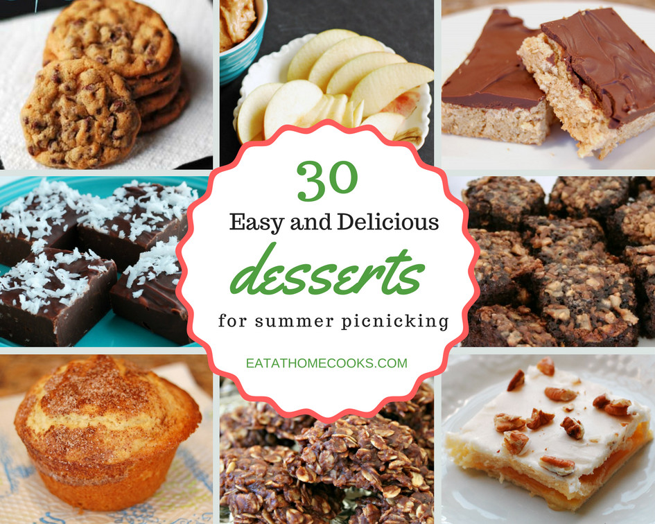 Desserts For Picnic  Over 30 Tasty Picnic Desserts Eat at Home