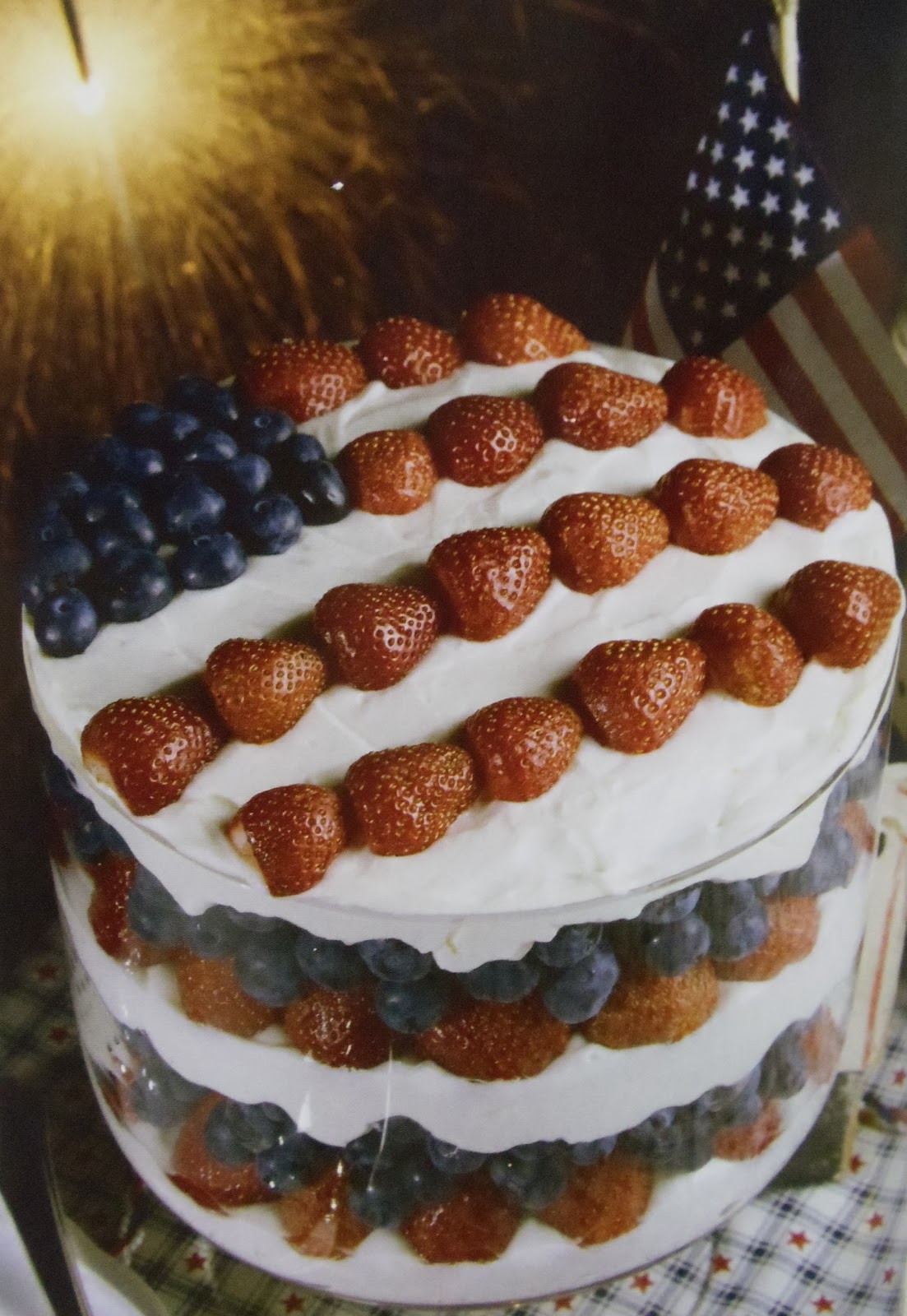 Desserts For Picnic  Everyday Life at Leisure 4th of July Picnic Dessert