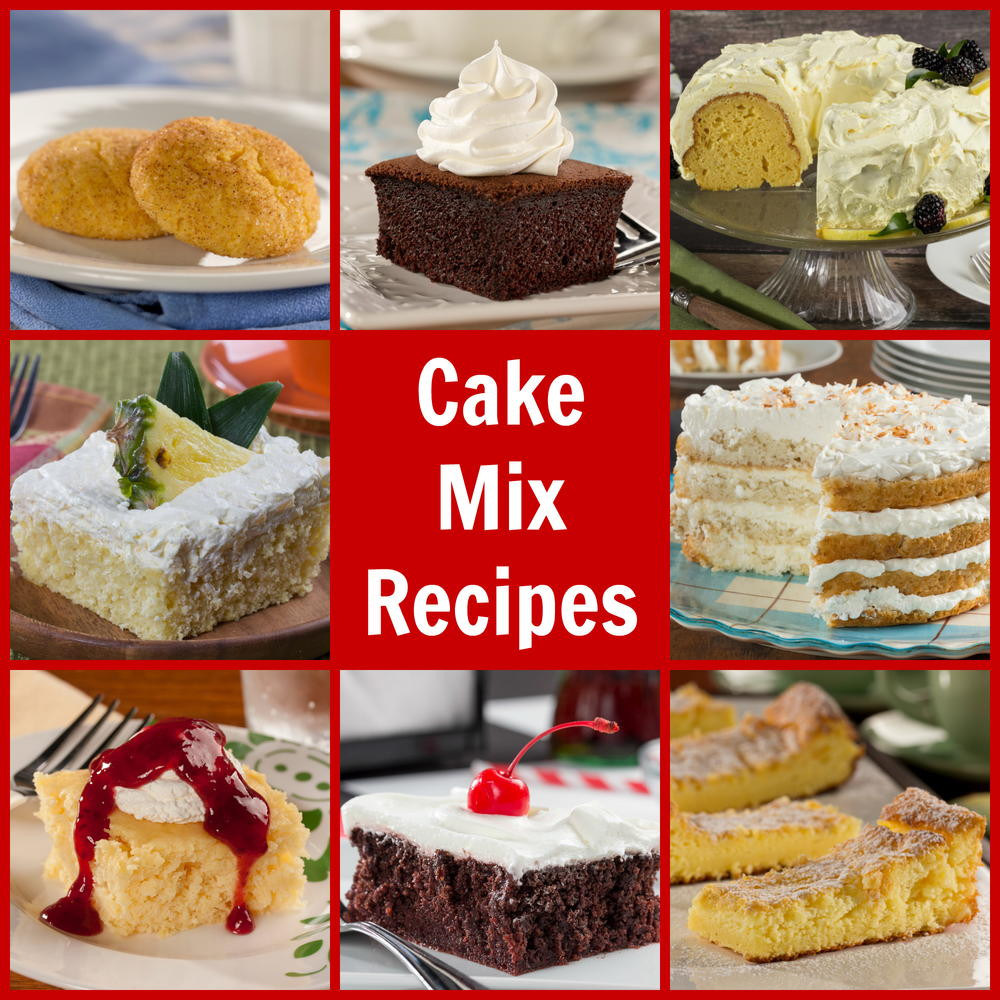 Desserts Using Cake Mix  7 Diabetic Friendly Cake Mix Recipes