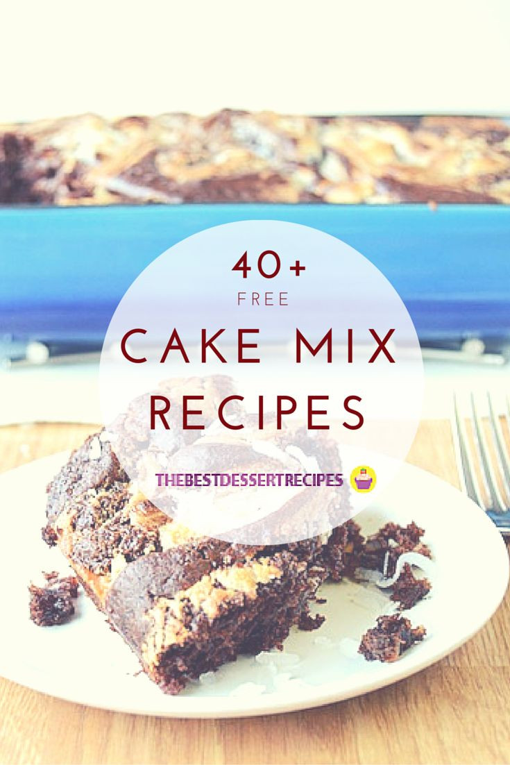 Desserts Using Cake Mix  Chocolate cake mix recipes vanilla cake mix recipes cake