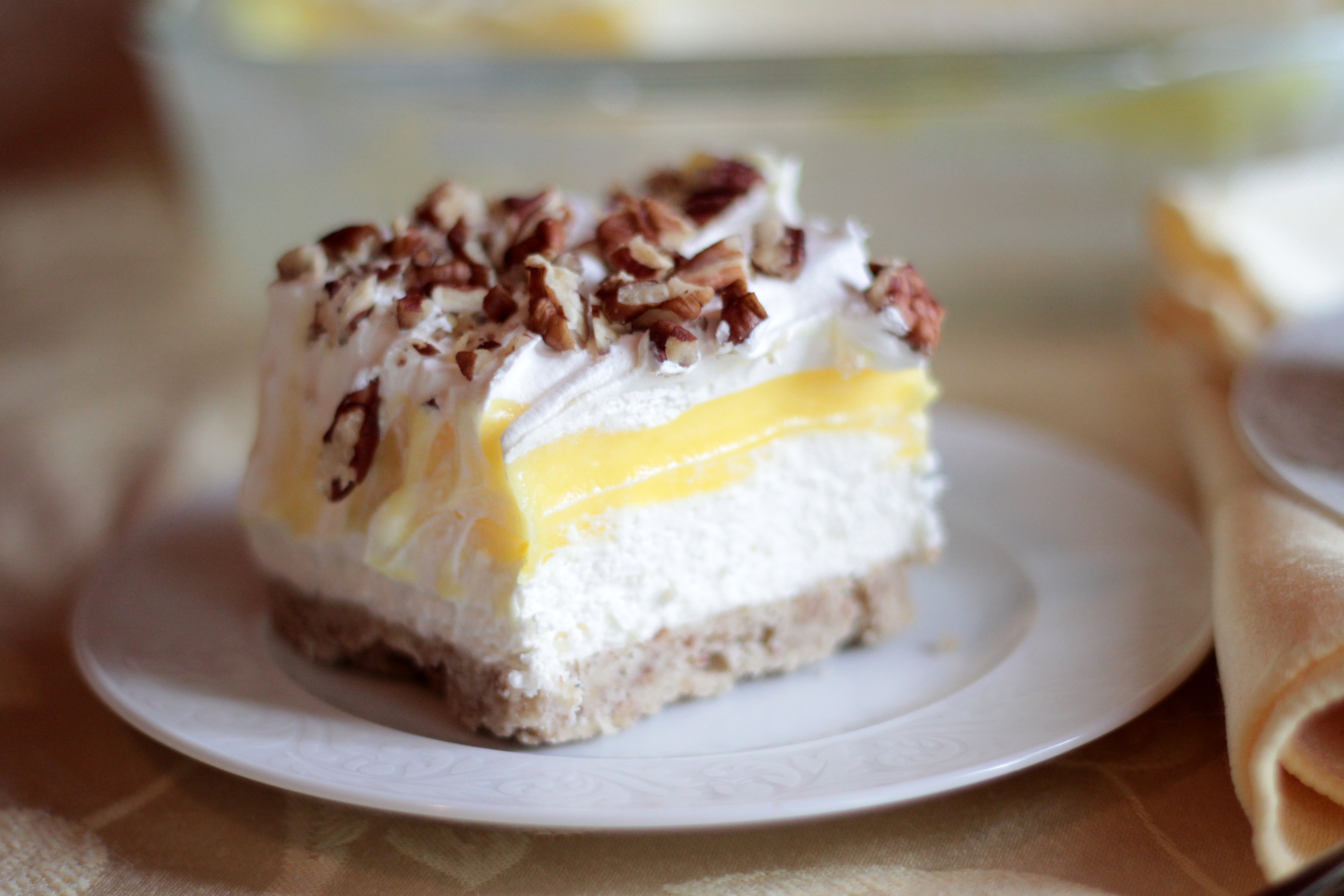 Desserts With Lemon  Luscious Lemon Dessert