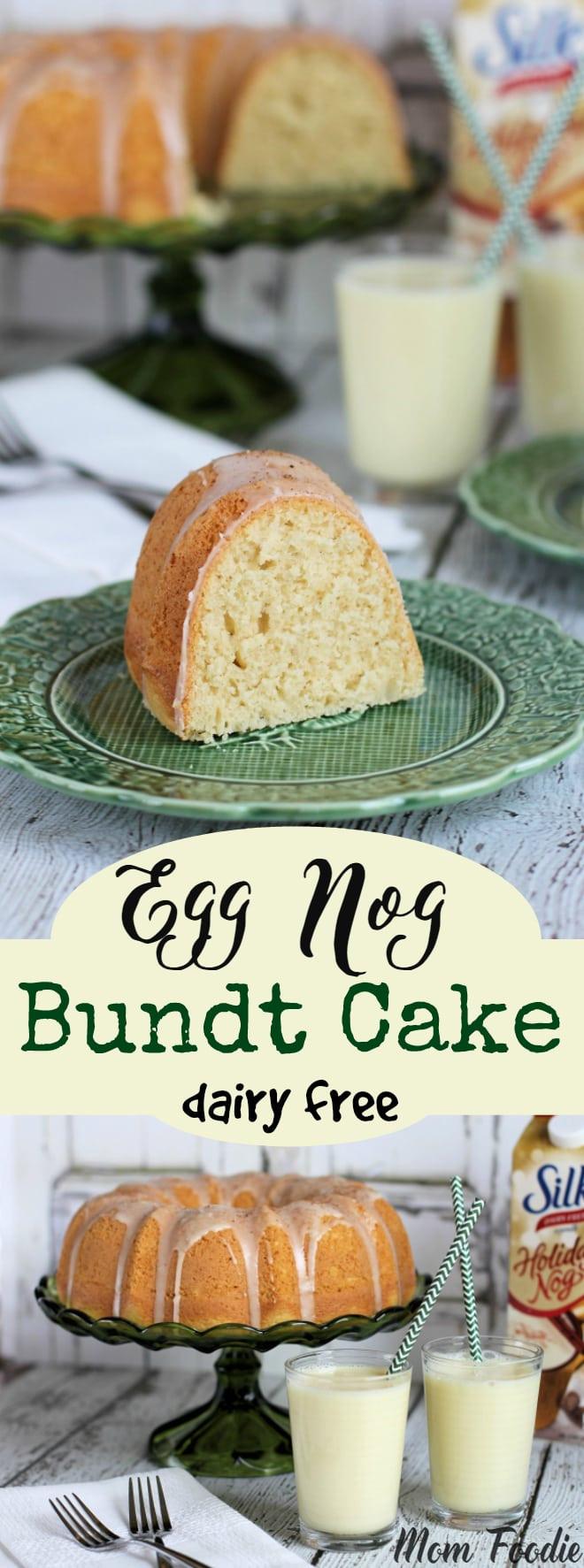Desserts Without Dairy  Eggnog Bundt Cake Recipe