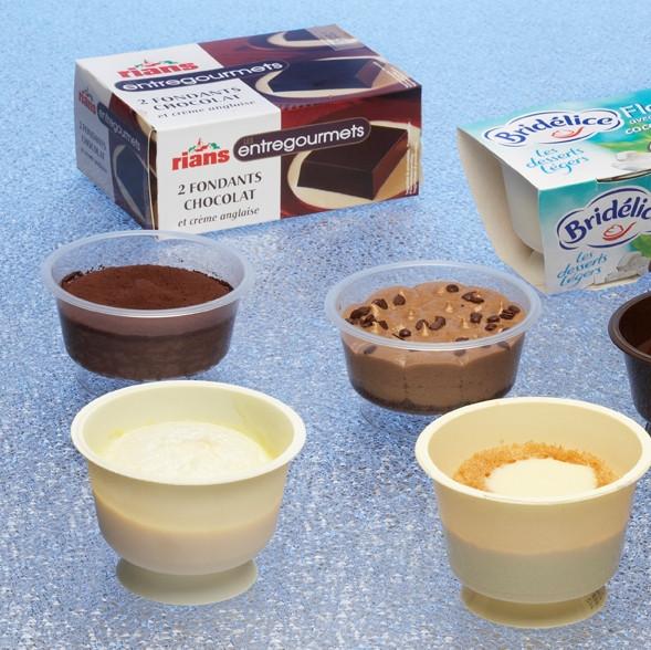 Desserts Without Dairy  Fresh dairy desserts Serac Nova