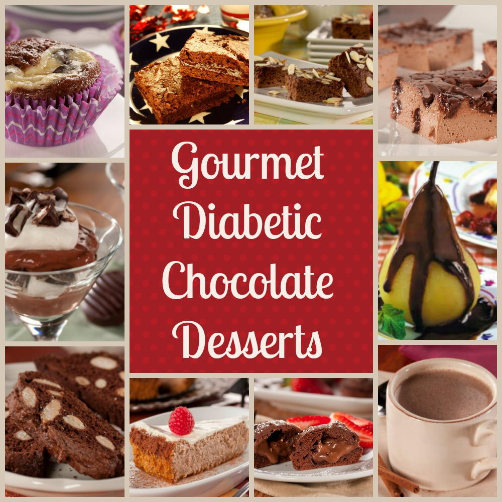 Diabetic Dessert Recipes  Gourmet Diabetic Desserts Our 10 Best Easy Chocolate