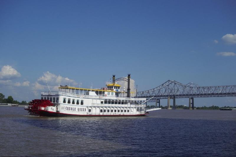 Dinner Cruise New Orleans  Creole Queen Mississippi River Dinner Jazz Cruise