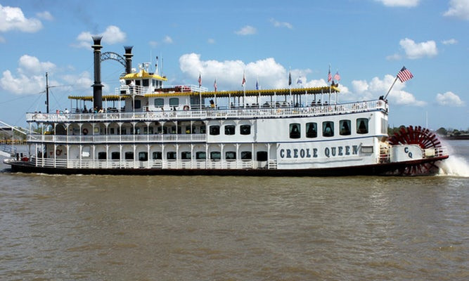 Dinner Cruise New Orleans  Creole Queen Dinner Jazz Cruise