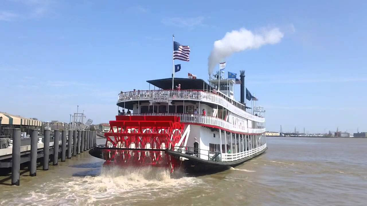 Dinner Cruise New Orleans  Mississippi River Natchez Steamboat Cruise New Orleans USA