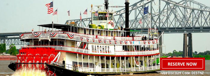 Dinner Cruise New Orleans  Steamboat Natchez Jazz Dinner Cruise coupons New Orleans