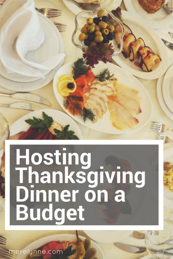 Dinner On A Budget  Hosting Thanksgiving Dinner on a Bud Meredith Rines
